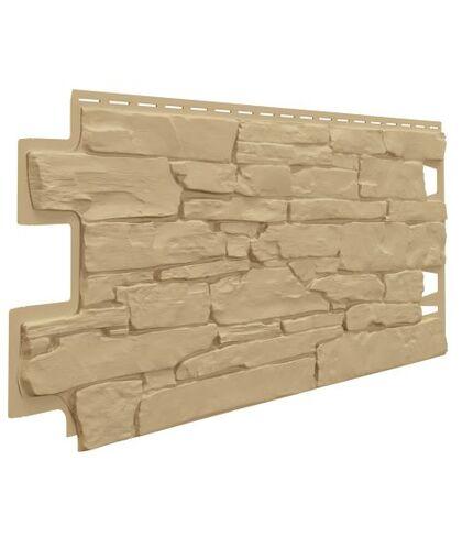 Фасадные панели (Цокольный Сайдинг) VOX Vilo Stone Песочный