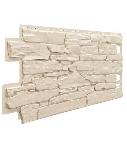 Фасадные панели (Цокольный Сайдинг) VOX Vilo Stone Слоновая Кость