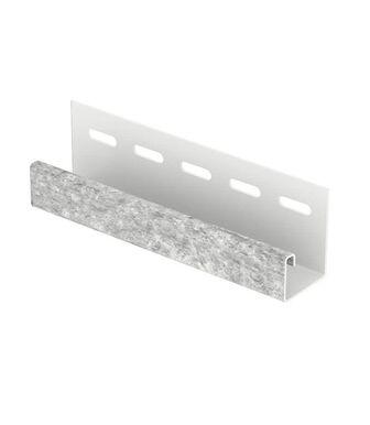 J-планка Стоун Хаус Кварцит Светло-Серый для Фасадных панелей Ю-Пласт