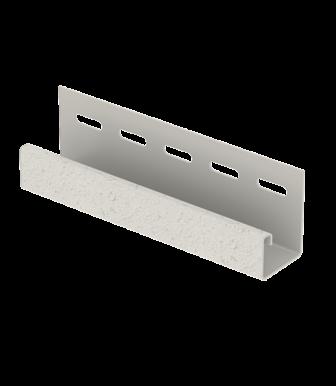 J-планка Стоун Хаус S-Lock Клинкер Дымчатый для Фасадных панелей Ю-Пласт