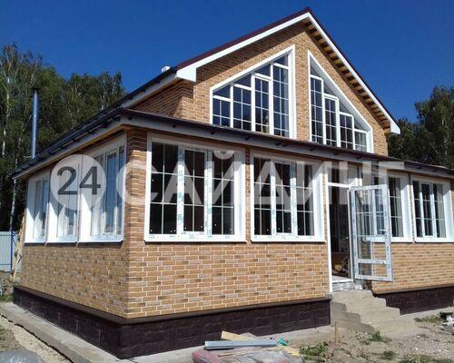 фото дома отделанного фасадными панелями альта профиль кирпич рижский цвет 02 галерея 1