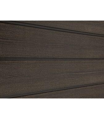 Сайдинг ДПК Savewood Sorbus радиальный распил Темно-коричневый