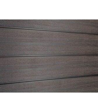 Сайдинг ДПК Savewood SW-Cedrus радиальный распил Темно-коричневый