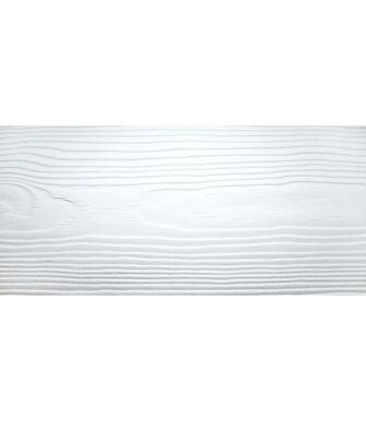 Сайдинг Фиброцементный Cedral Click WOOD C01 (Минерал Белый)