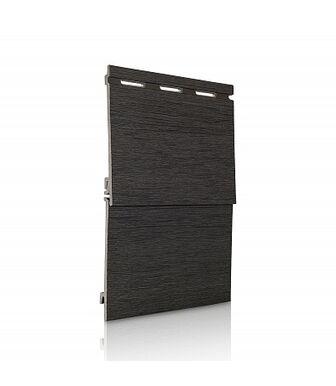 Вспененный Сайдинг VOX Kerrafront Wood Design Графит