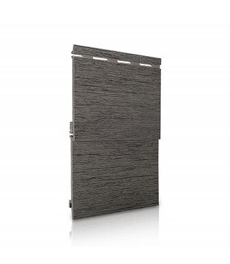 Вспененный Сайдинг VOX Kerrafront Wood Design Серебряно-Серый