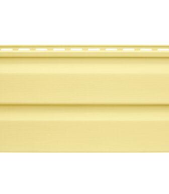 Сайдинг Альта-Профиль Kanada Плюс, Коллекция Престиж, Желтый
