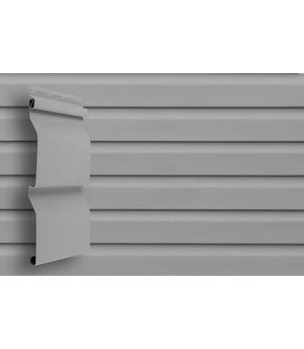 Сайдинг Grand Line Slim D4 Серый
