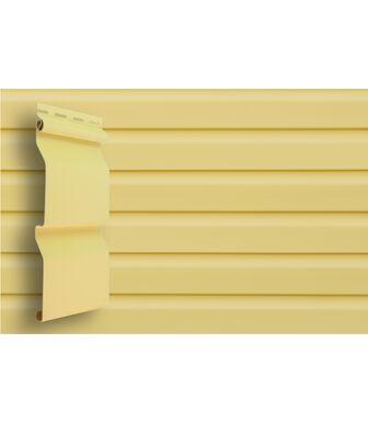 Сайдинг Grand Line Slim D4 Золотой песок Premium