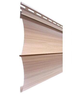 Сайдинг Tecos Natural Wood Effect Оцилиндрованный Брус Двойной Канадский дуб