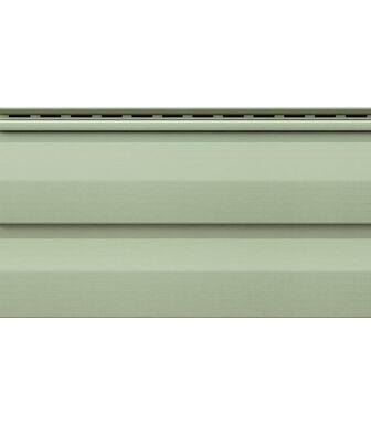 Сайдинг VOX Unicolor Корабельный Брус Светло-зеленый