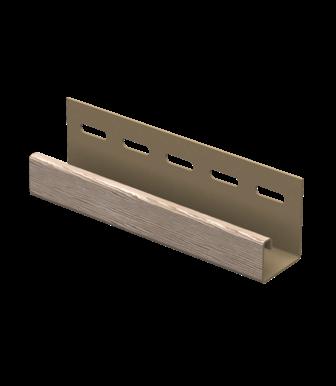 J-планка Timberblock Дуб Натуральный для сайдинга Ю-Пласт