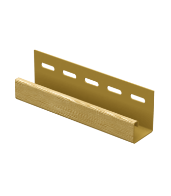 J-планка Timberblock Дуб Золотой для сайдинга Ю-Пласт