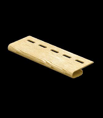Завершающая планка Timberblock Дуб Золотой для сайдинга Ю-Пласт