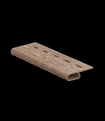 Завершающая планка Timberblock Кедр Натуральный для сайдинга Ю-Пласт