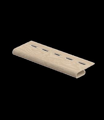Завершающая планка Timberblock Кедр Светлый для сайдинга Ю-Пласт