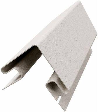 Угол наружный к термопанелям Доломит 20 мм Белый