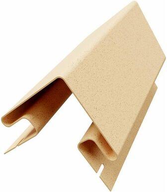 Угол наружный к термопанелям Доломит 20 мм Светло-Желтый