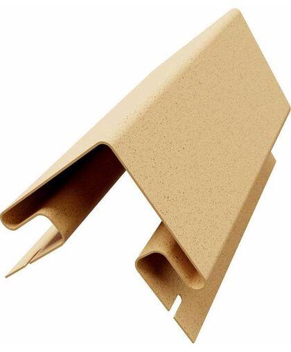 Угол наружный к термопанелям Доломит 20 мм Желтый