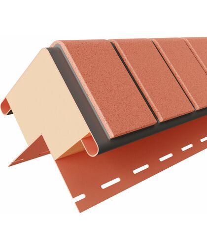 Угол Наружный к Фасадным Термопанелям Доломит Кирпич 40 мм Красный