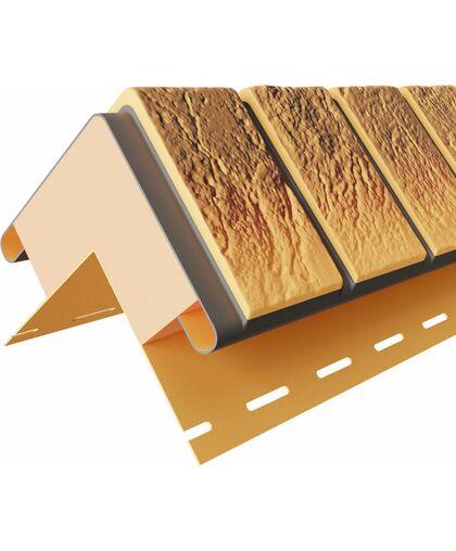 Угол наружный к термопанелям Доломит Венецианский Кирпич 20 мм Нарва