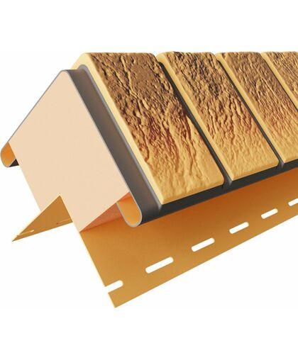 Угол наружный к термопанелям Доломит Венецианский Кирпич 40 мм Нарва