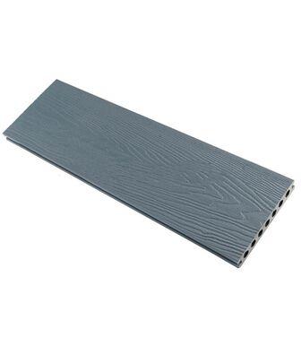 Террасная доска (148*23,5*4000) пустотелая, шовная, Ка-полимер Ниагара