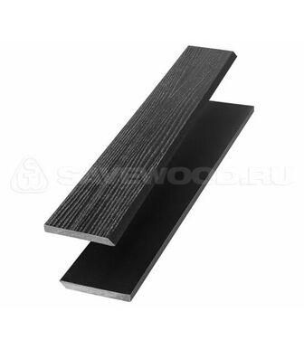 Торцевая рейка ДПК для террасной доски Savewood черный