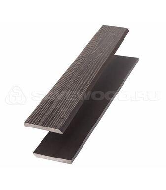 Торцевая рейка ДПК для террасной доски Savewood темно-коричневый