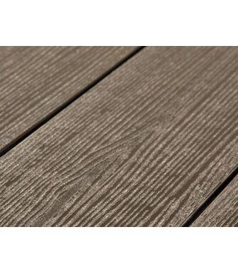 Террасная Доска SaveWood Standard-Plus Salix (S) (R) темно-коричневый