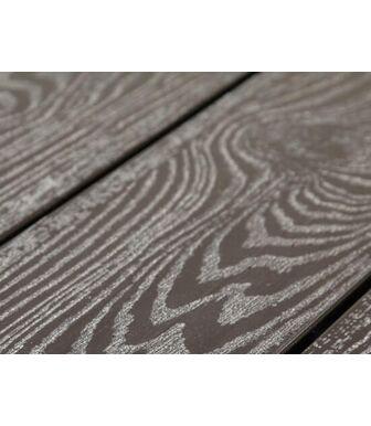 Террасная Доска SaveWood Standard-Plus Salix (S) (T) темно-коричневый