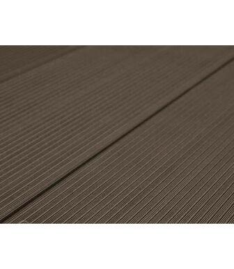 Террасная Доска SaveWood Standard-Plus Salix (S) темно-коричневый