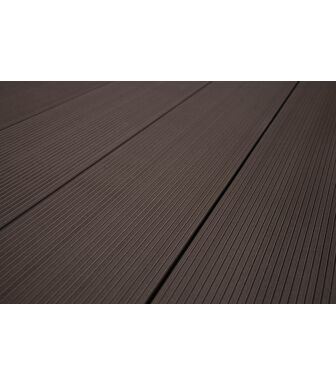 Террасная Доска SaveWood Standard Salix темно-коричневый