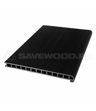 Профиль ДПК для ступеней и лестниц SaveWood Radix черный