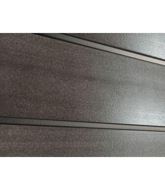 Заборная доска ДПК SaveWood Agger темно-коричневый глянец