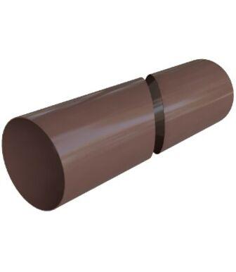 Труба ПВХ Альта-Профиль Элит Коричневый 3м