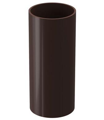Труба водосточная Docke Lux Шоколад