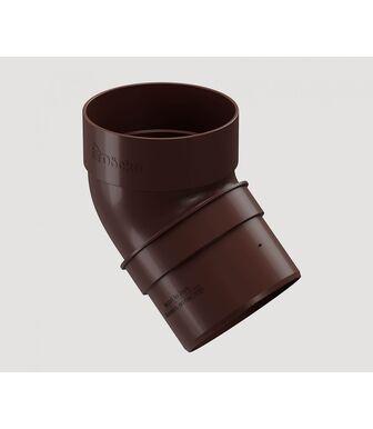 Колено 45° Docke Standard Темно-коричневый