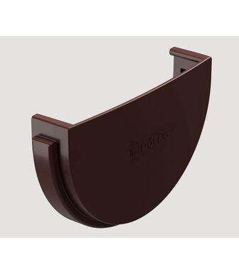 Заглушка желоба Docke Standard Темно-коричневый