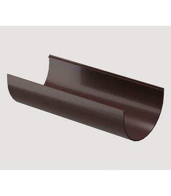 Желоб водосточный 2м Docke Standard Темно-коричневый