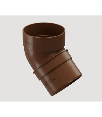 Колено 45° Docke Standard Светло-коричневый
